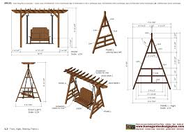 Small Picture Best 25 Garden Swing Designs Woodworking Furniture Plans