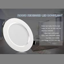 10Pcs Led Downlight 220V 240V 3W 5W <b>7W 9W 12W 15W</b> LED ...
