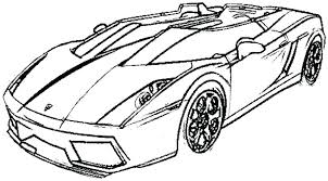 Ferrari Enzo Colouring Pages Deluxe Sport Car Coloring Page Racing