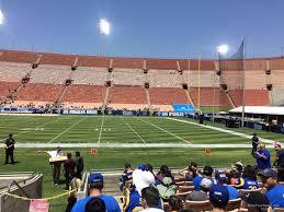 Los Angeles Memorial Coliseum Section 104a Rateyourseats Com