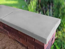 twice weathered apex coping stones from