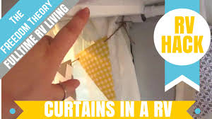 rv hanging curtains in your rv the freedom theory
