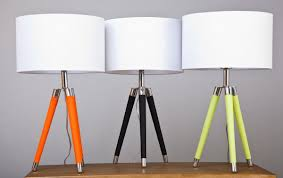 Image Of: Modern Table Lamps Tripod