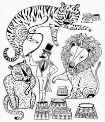 Small Picture Trapeze artists coloring page Circus Coloring Pages Pinterest