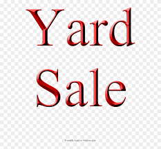 Yard Sale Sign Red Printable Blank Sale Signs Clipart
