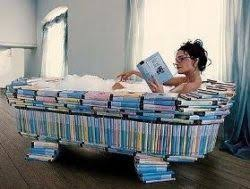 Reading in the bathtub day - February 9, 2014