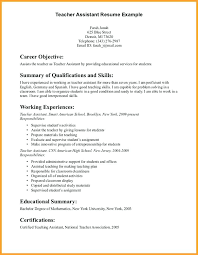 Resume For Teacher Aide Teacher Sample Resume Teacher Aide Cover
