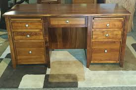 Outstanding Solid Wood Office Desk Brilliant On Office Desk Design  Furniture Regarding Solid Wood Office Desk Popular