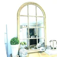 window pane wall decor mirror medium rustic fashionab