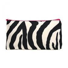 zebra print makeup case