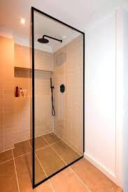 enchanting frame shower doors best bespoke shower doors and screens images on black framed shower doors