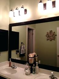 framed bathroom vanity mirrors. Wooden Framed Bathroom Mirrors Inspiring Wall Framing Mirror Ideas Wood Vanity