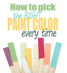 how to choose a paint colorHow to pick the right paint color every time  Living Rich on