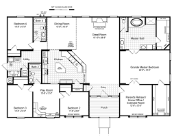 4 Bedroom Modular Home Plans Best Of Palm Harbor S The Hacienda Ii Vrwd66a3  Or Vr