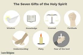 the seven gifts of the holy spirit the manifestation of sanctifying grace