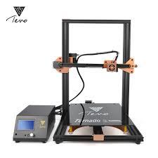 2019 <b>Newest</b> TEVO <b>Tornado 3D Printer</b> Fully Assembled Aluminium ...