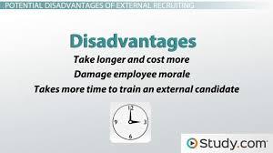 external recruitment advanes
