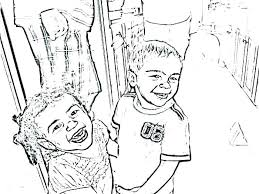 Turn Pictures Into Coloring Pages Free Turn Your Picture Into A