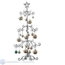 Metal Ornament Tree Display Stand Uk Adorable Metal Ornament Display Tree Dondurmamgaymakclub