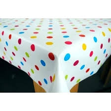 polka dot table linens polka dot tablecloths plastic spotty tablecloth black and white round pink linen