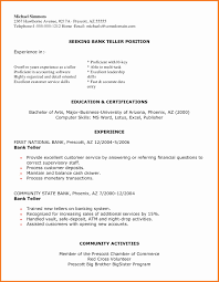 Sample Cover Letter For Teller Position With No Experience Luxury