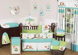 Image of: Baby Owl Bedding Decor