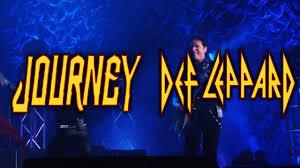 Journey Def Leppard Concert At Busch Stadium St Louis
