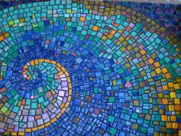 i5 mosaic the mosaic features intricate tilework vibrant colors and wave forms tile work e19 work