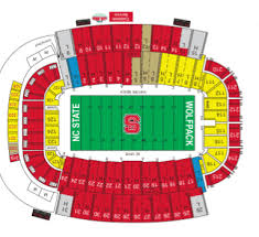 Nc State Seating Chart State Wolfpack Tickets 42 Hotels Near Carter Finley