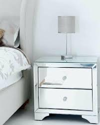 bedside mirrored tables my furniture mirrored furniture bedside table cabinet 2 drawers range cheap mirrored bedside tables uk