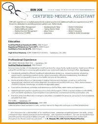 Resume Templates Medical Assistant Enchanting Resume Format For Medical Transcriptionist Resume Ideas Pro