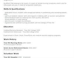 Skills For Nursing Resume Gorgeous Resume For Nursing Jobs Nurse Resume Example Of Nurses Resume Sample