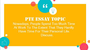 essay people spend too much time at work discuss