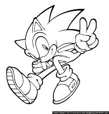 Dessins Coloriage Sonic Imprimer Sur Page Coloriages Jeux Dessin