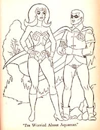 Small Picture The Aquaman Shrine Super Friends Coloring Book 1975