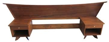 mid century modern king bed. Sold. George Nakashima Mid Century Modern King Bed D