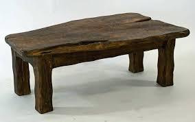 tall wooden table dark wood table handmade chunky dark wooden coffee table by dark wood tall