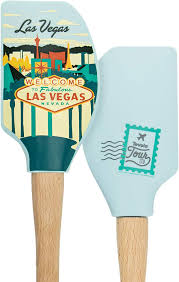 Tovolo Spectrum Diversified Designs Tovolo 81 28500p Tour Spatula Las Vegas Heat Resistant Silicone Wood Cooking Kitchen Utensils Non Stick For Baking Spreading And Mixing Ergonomic