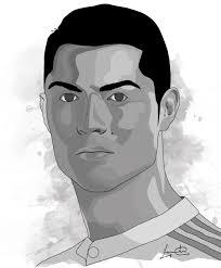 Cristiano Ronaldo Vector Art Illustrator Disney Characters