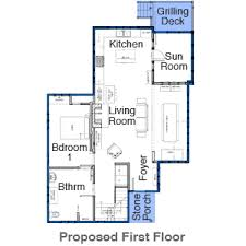 Floor Plans  amp  House Elevations   The Essex House   This Old House    Essex House First Floor Before