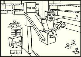 Amazing Minecraft Coloring Pages 97 #9966