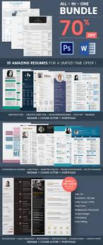 Creative Resume Template 81 Free Samples Examples Format With