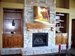 Built In Cabinets Beside Fireplace Install Custom Bookcases In Living Room Wall Shelving Units