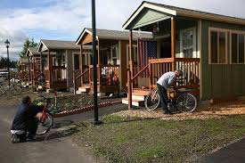 tiny house community for homeless. Plain Homeless There Are Numerous Models For Tiny House Villages Quixote Village Serves  The Homeless Community Photo And Tiny House Community For Homeless I