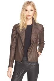 image of vince leather scuba jacket