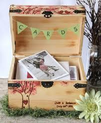 diy wedding card chest