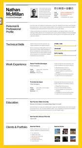 best cv template best cv resume format jobsxs com