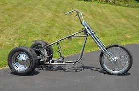trike softail chopper frame axle swingarm rolling chassis kit