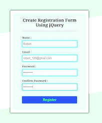Registration Form Css Template