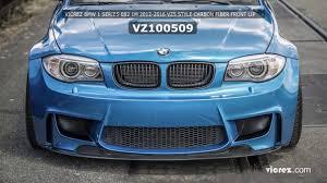 BMW 3 Series bmw 128i body kit : Vicrez BMW 1 series E82 1M 2012-2016 VZ5 Style Carbon Fiber Front ...